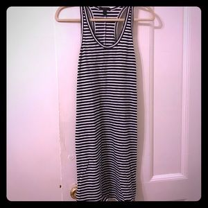 J crew striped dress